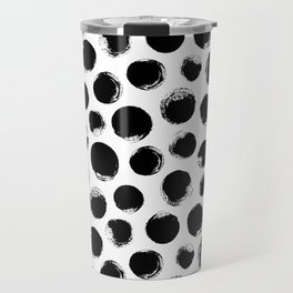 Black Spots Travel Mug