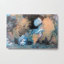 A Ghostly Moon Metal Print