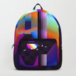 colorful labyrinth Backpack