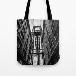 Portugalete suspension bridge Tote Bag