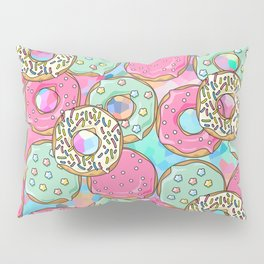 Sweet Donuts Cookies Pillow Sham