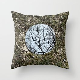 Reflections, Three Throw Pillow