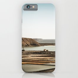 Salinas in front of the beach iPhone Case