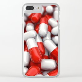 Pharmaceutical capsules Clear iPhone Case
