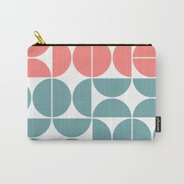 Mid Century Modern Geometric 03 Carry-All Pouch