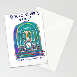 Radio What's New? Stationery Cards