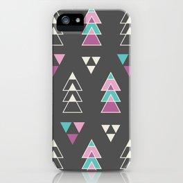 Mystic Triangles iPhone Case