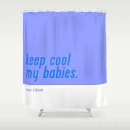 Keep Cool Shower Curtain
