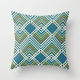 Track & Field Throw Pillow