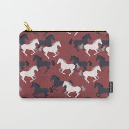 Wild horses pattern Carry-All Pouch