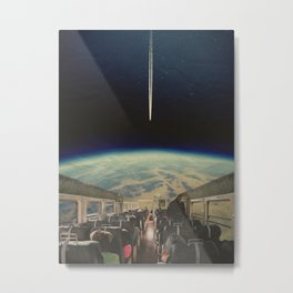 SPACE BUS Metal Print