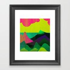 Sea View Framed Art Print