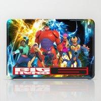 big hero 6 iPad Cases featuring Big Hero 6 by ezmaya