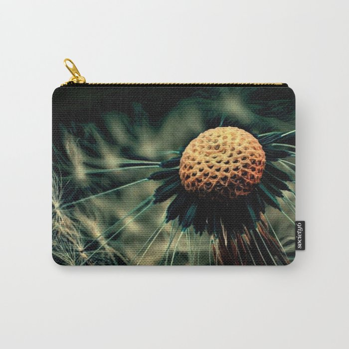 Dying Wish (Eerie Dandelion Flower) Carry-All Pouch