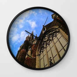 Up to the Clouds Wall Clock