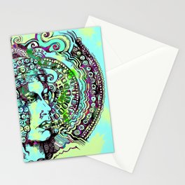 Lady Of Elche Stationery Cards