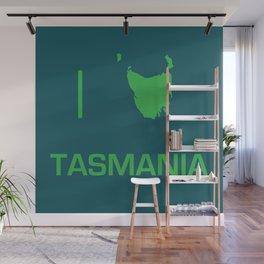 I heart Tasmania Wall Mural