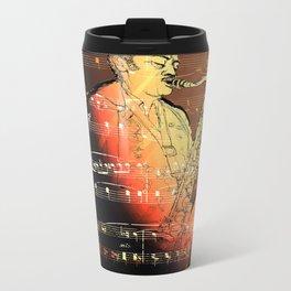 Pure Sax Metal Travel Mug