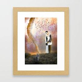 The Fool on the Hill Framed Art Print
