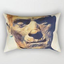 Boris Karloff - The Mummy Rectangular Pillow