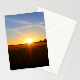 Sunset 032517 Abilene, Texas Stationery Cards