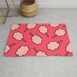 Cotton Candy Pattern Rug