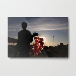Cottoncandy Man Metal Print