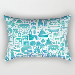 in the Spanish South coast Rectangular Pillow