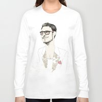 chad wys Long Sleeve T-shirts featuring I´m hipster  by Cecilia Sánchez