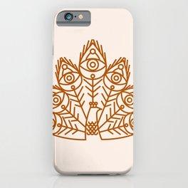 Cosmic Peacock iPhone Case