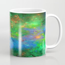Speed Of Light - Abstract space painting Coffee Mug