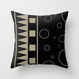 Indigenous Imprints | Rezurrect Spine | Moon Throw Pillow