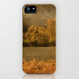 Thornton Reservoir, Leicestershire iPhone Case