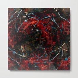 Modern  Abstract Art Design Metal Print