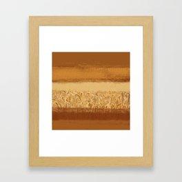 Wheaten Framed Art Print