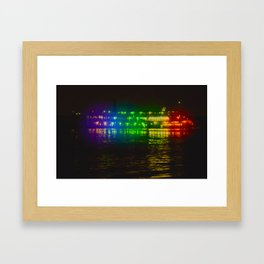 Steamboat Caterpillar Framed Art Print