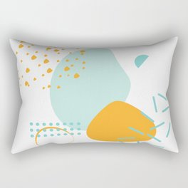 Shapeless Shapes Rectangular Pillow