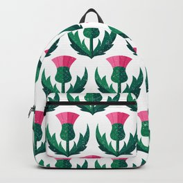Thistle field Backpack