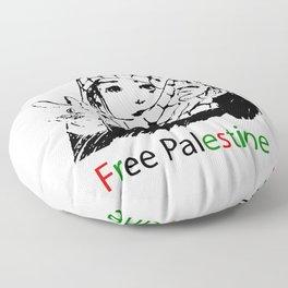 Freedom for Palestine Floor Pillow