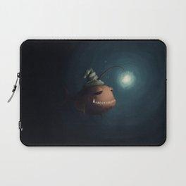 Sleepy fish, in the depth of the ocean Laptop Sleeve