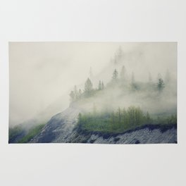 Trees and Fog Rug