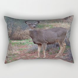 Zion Deer Rectangular Pillow