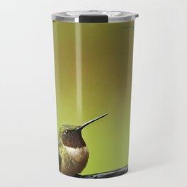 Two Hummingbirds Travel Mug