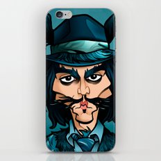 Big Bad Wolf iPhone & iPod Skin