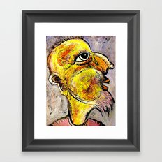 Portrait of a Wise Man Framed Art Print