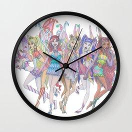 Enchantix Power! Wall Clock