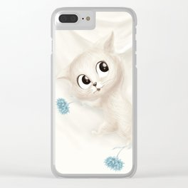 Hanging in There… Clear iPhone Case
