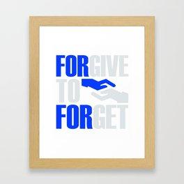 Forever To Forget 1 Framed Art Print