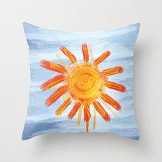 Sunshine Painting Throw Pillow