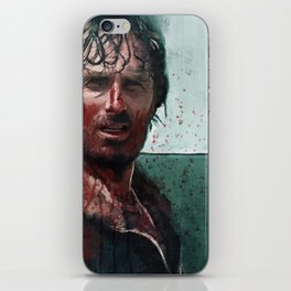 Don't Mess WIth Rick Grimes - The Walking Dead iPhone Skin